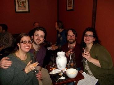 Liz, Casey, Beer Snob, Maddie