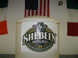 Shebeen flies the flags of craft beer and three countries.