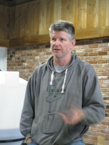 Rich Visco of Shebeen Brewing of Wolcott, Conn.