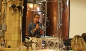 Jim Koch addresses the beer bloggers