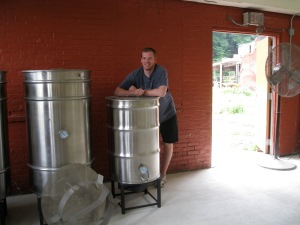 Michael Boney of Top Shelf Brewing