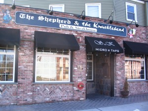 Shepherd and the Knucklehead exterior