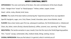 Tasting Brett's birthday-1
