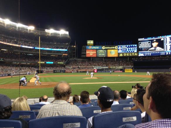 $1,000 Baseball Seats