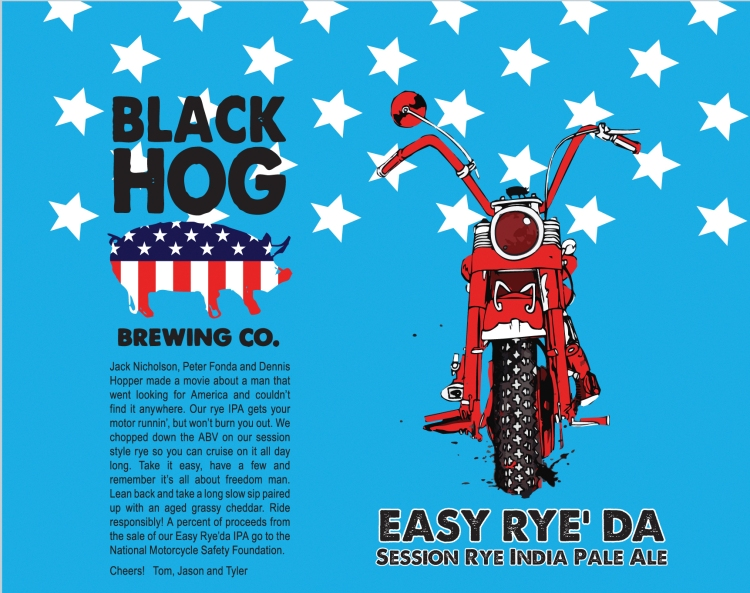 Easy Rye' Da, designed by Maximilian Toth