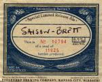 Boulevard Brewing Saison Brett