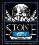 stone smoked porter wtih vb
