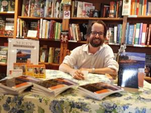 Meet the author... at House of Books in Kent.
