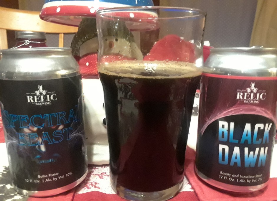 relic beers
