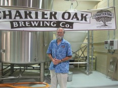 P. Scott Vallely of Charter Oak Brewing.