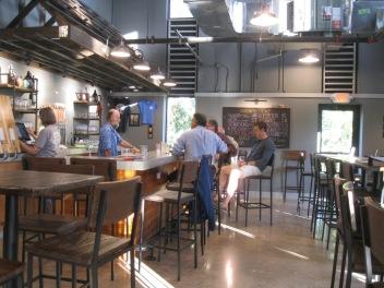 Charter Oak's tasting room.